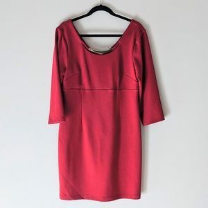 Laundry by Design Cranberry 3/4 Sleeve 12